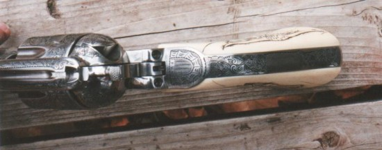 Ruger Vaquero Engraved