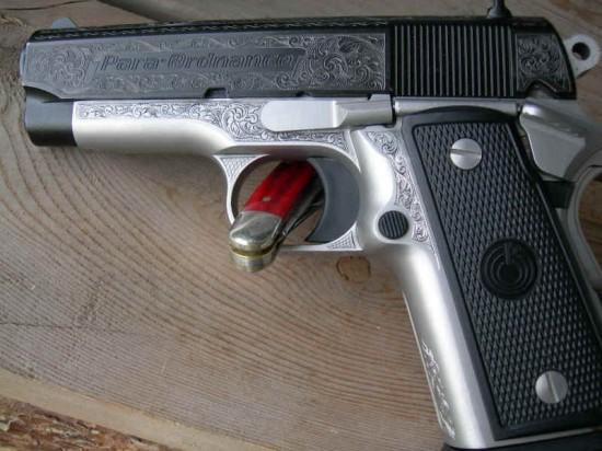 Engraved Para-Ordnance P12-45