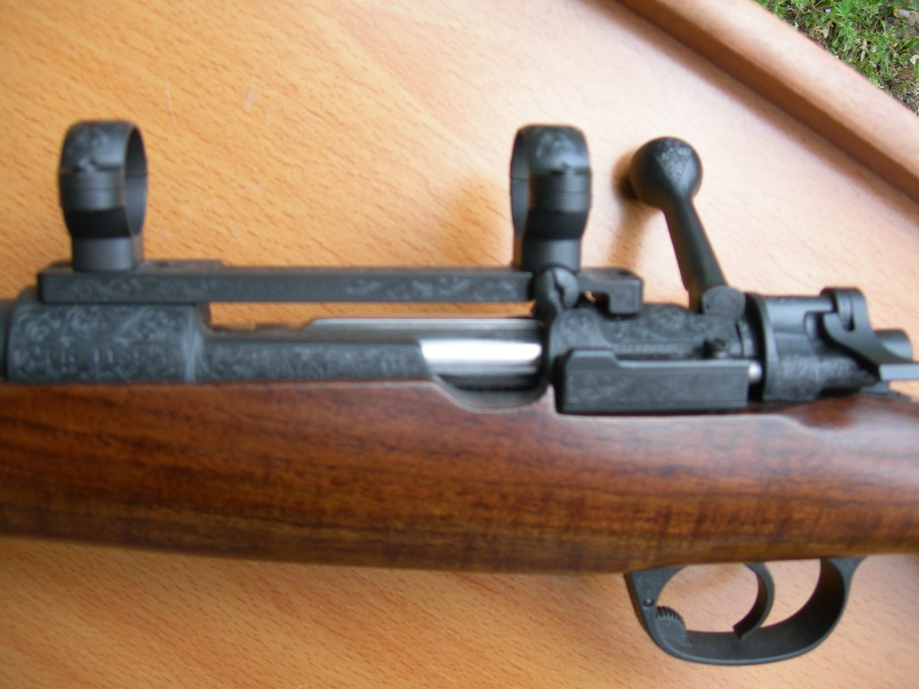 Fully engraved VZ 24 Mauser action