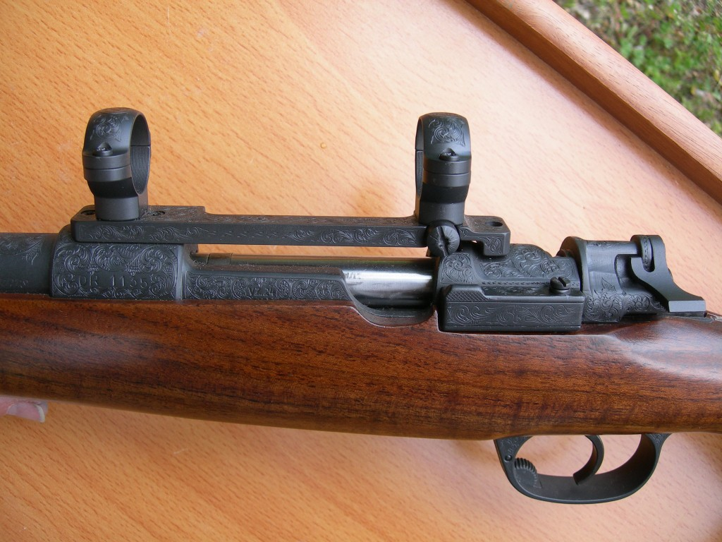.257 Roberts American Scroll VZ 24 Mauser