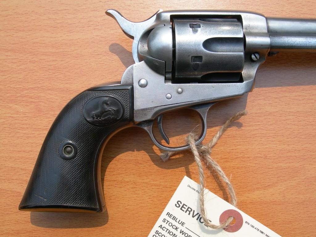 Colt SAA (38/40) Close Up