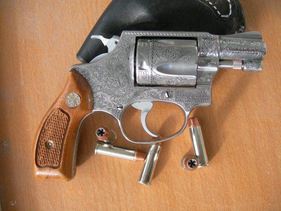 S&W Model 60 Side