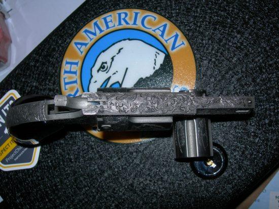 Engraved NAA Revolver